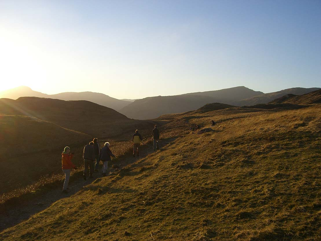 On the path from Watendlath to Rosthwaite