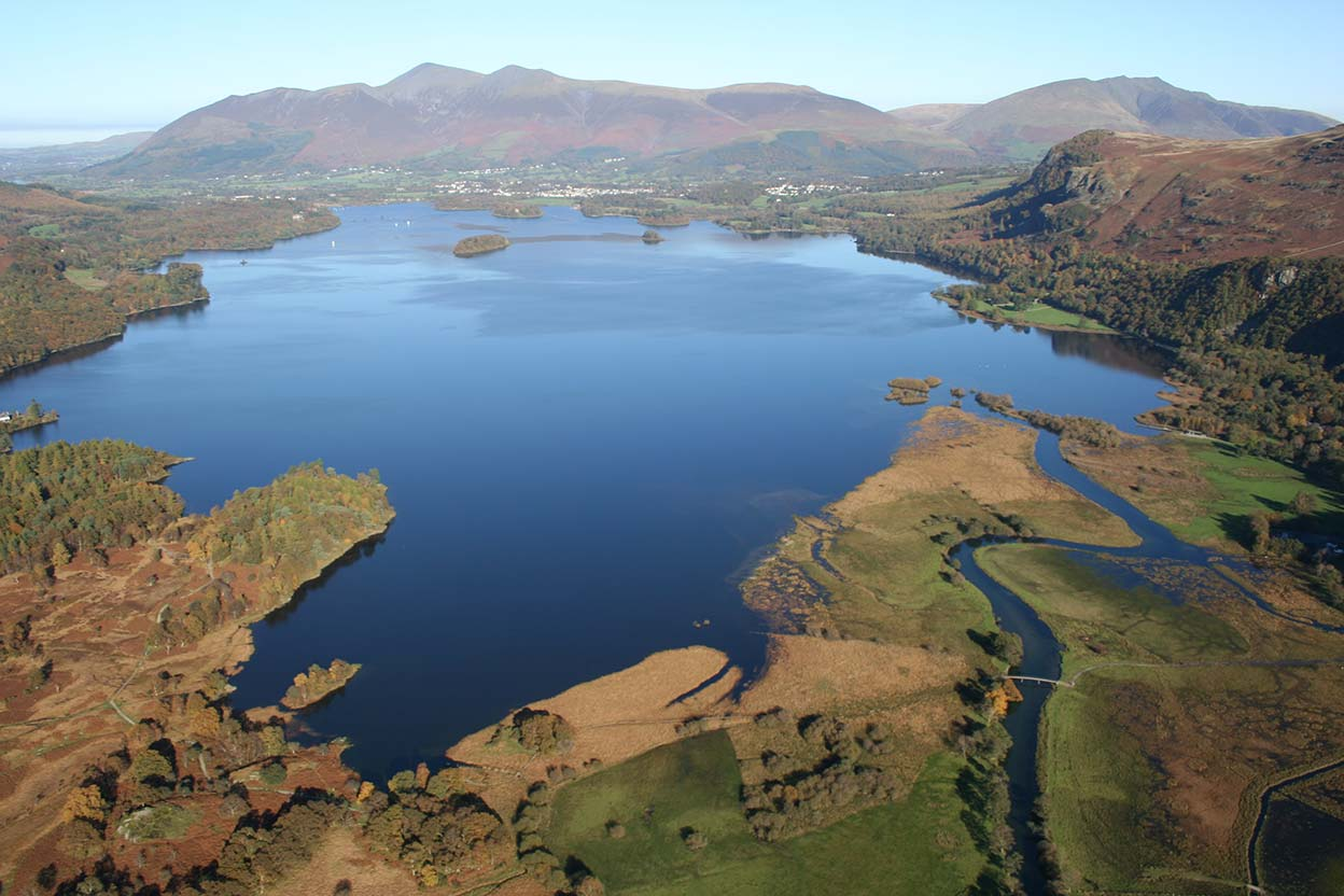 Derwentwater Skiddaw and Saddleback