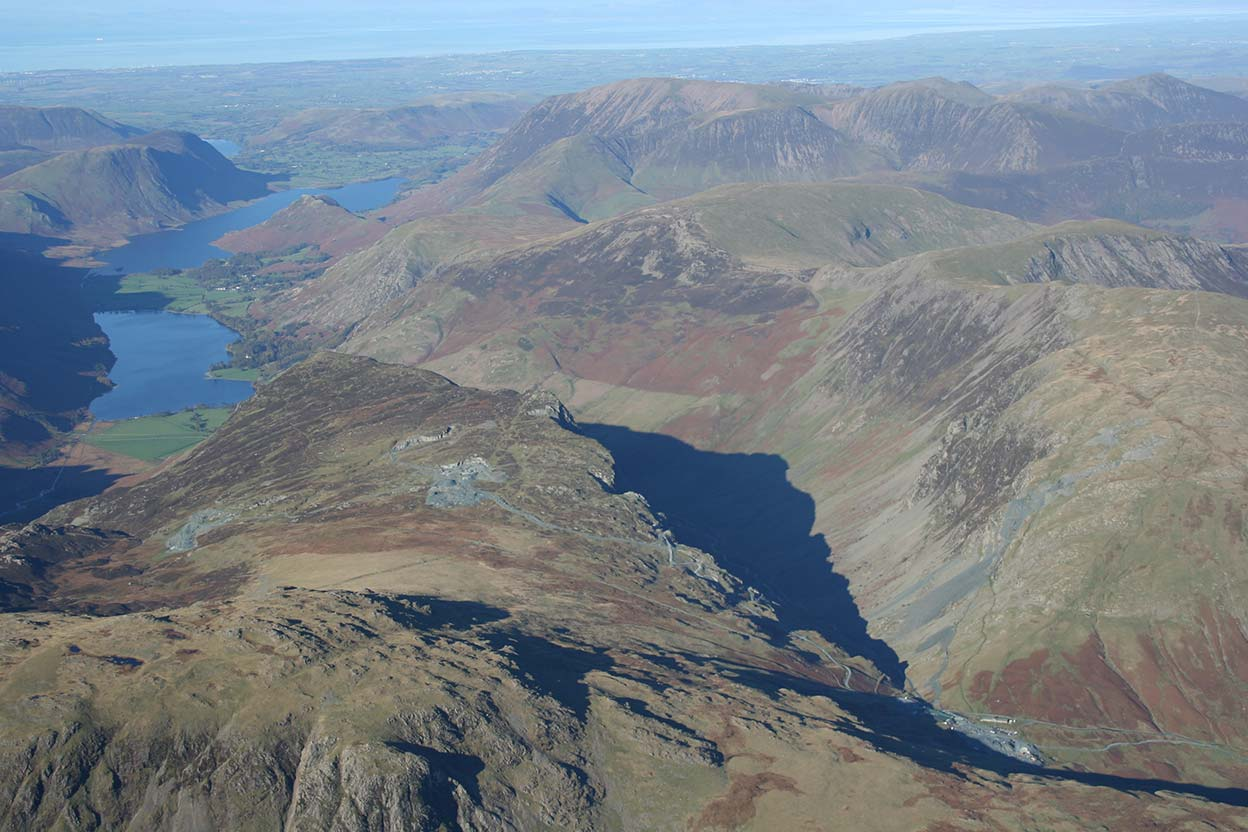 Loweswater Crummock Water Buttermere and Honister
