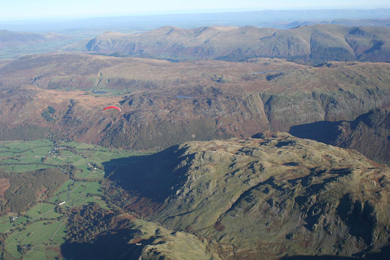 Upper Borrowdale looking East