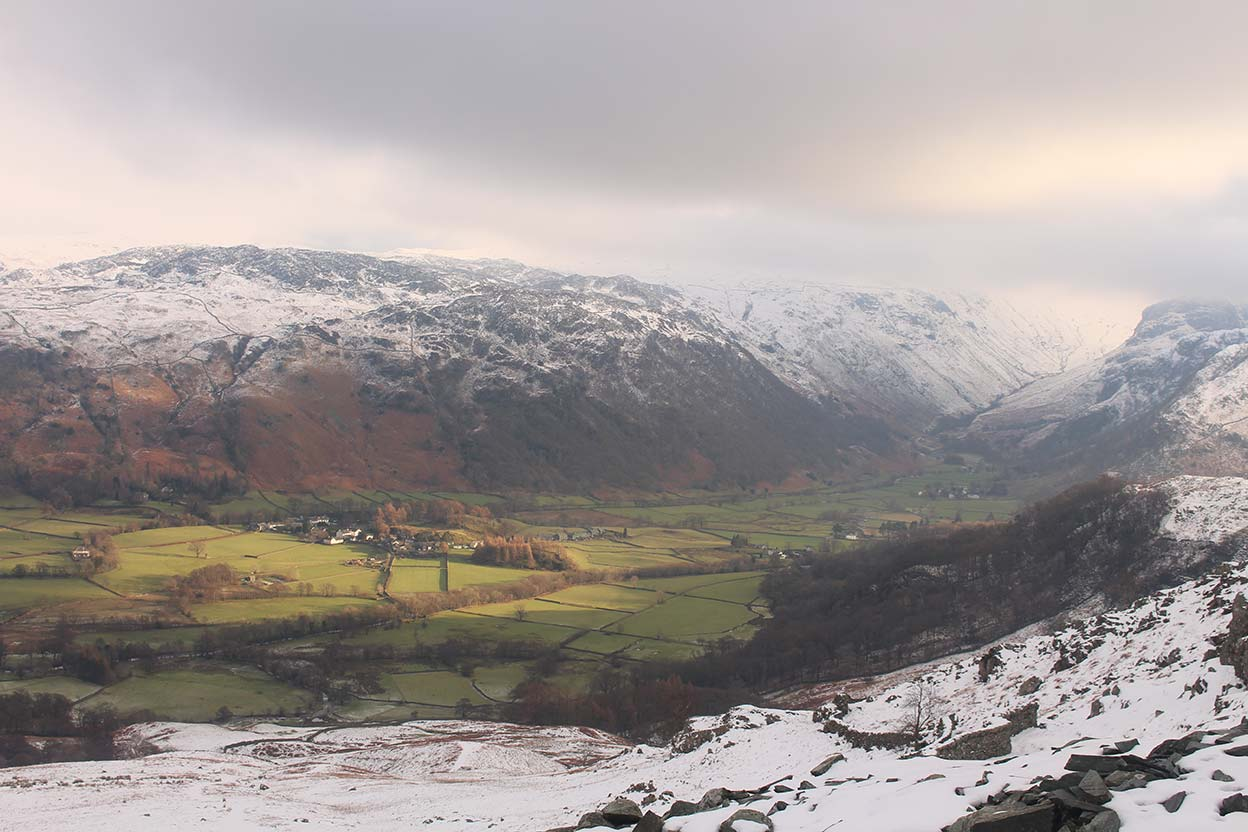 Rosthwaite from Rigghead