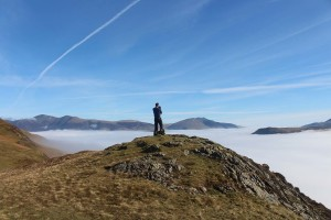 Photographing the inversion from Catbells