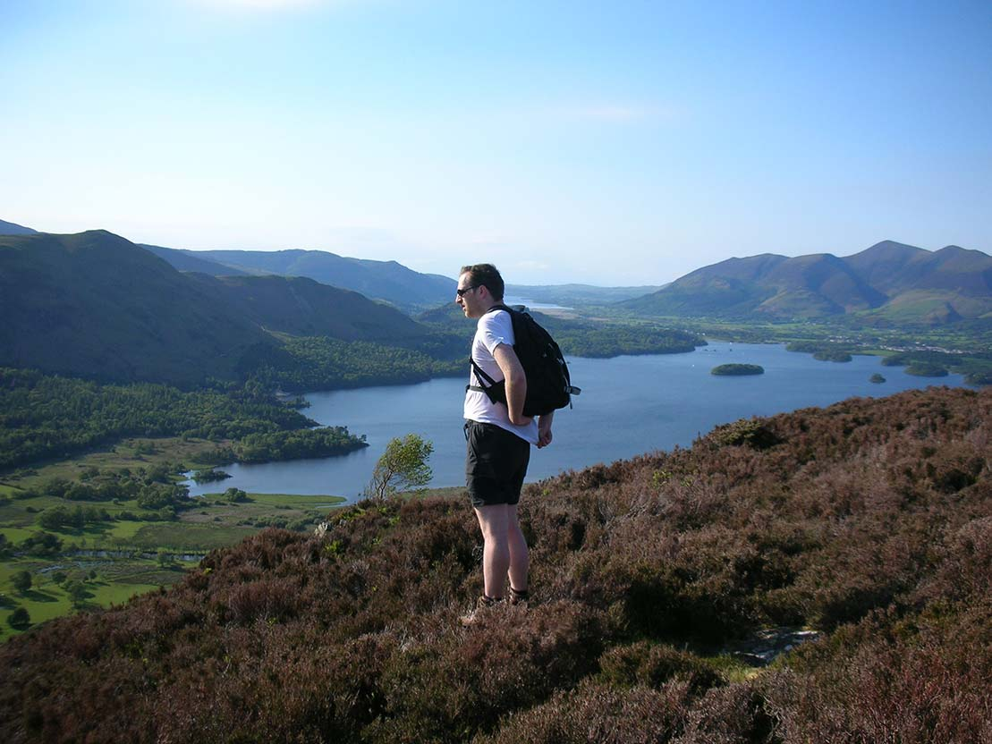 View from Brown Dodd of Derwentwater