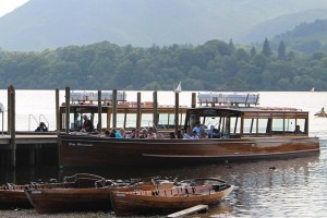 The launch at the Keswick landing stages