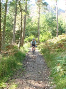 Mountain biking in Borrowdale