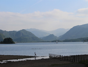 Sailing on Derwentwater