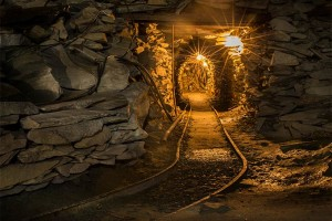 Underground at Honister Mines